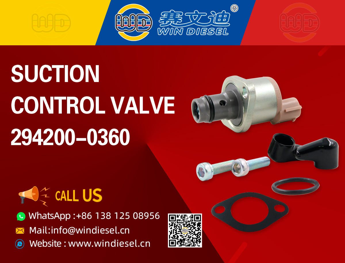 SUCTION  CONTROL VALVE  294200-0360