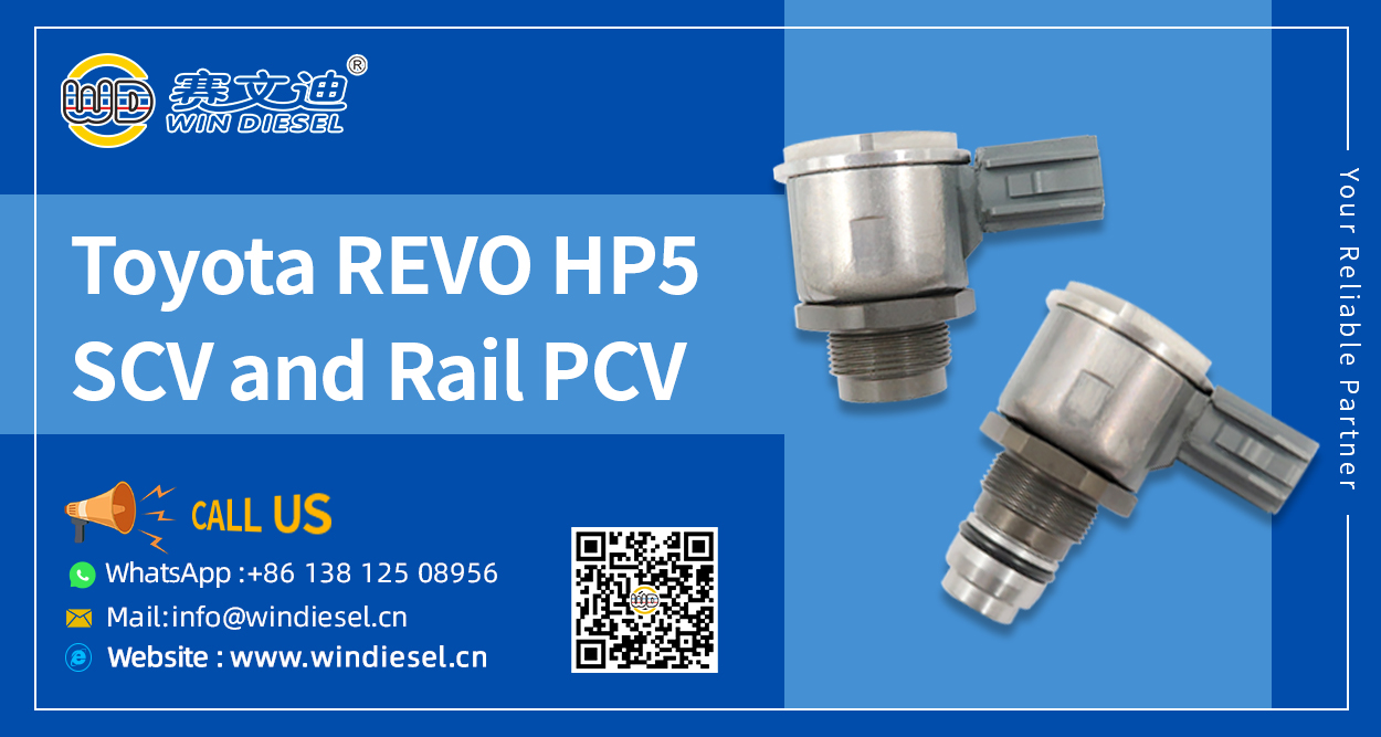 Toyota REVO  HP5 Rail PCV And SCV